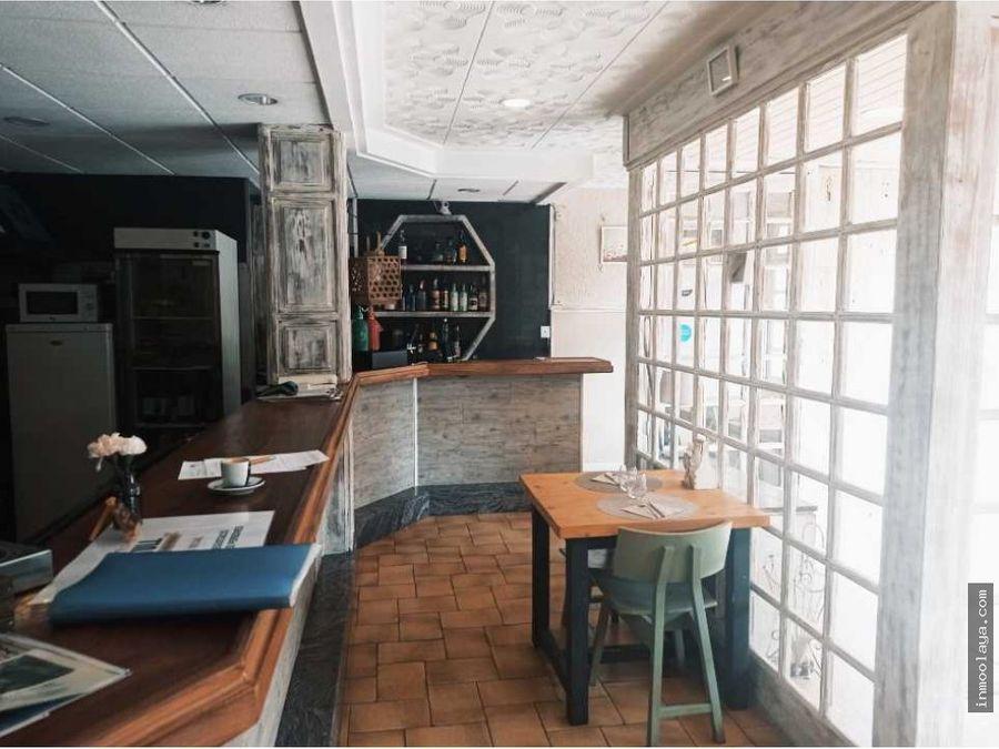 traspaso de bar restaurante en calle principal de sant celoni