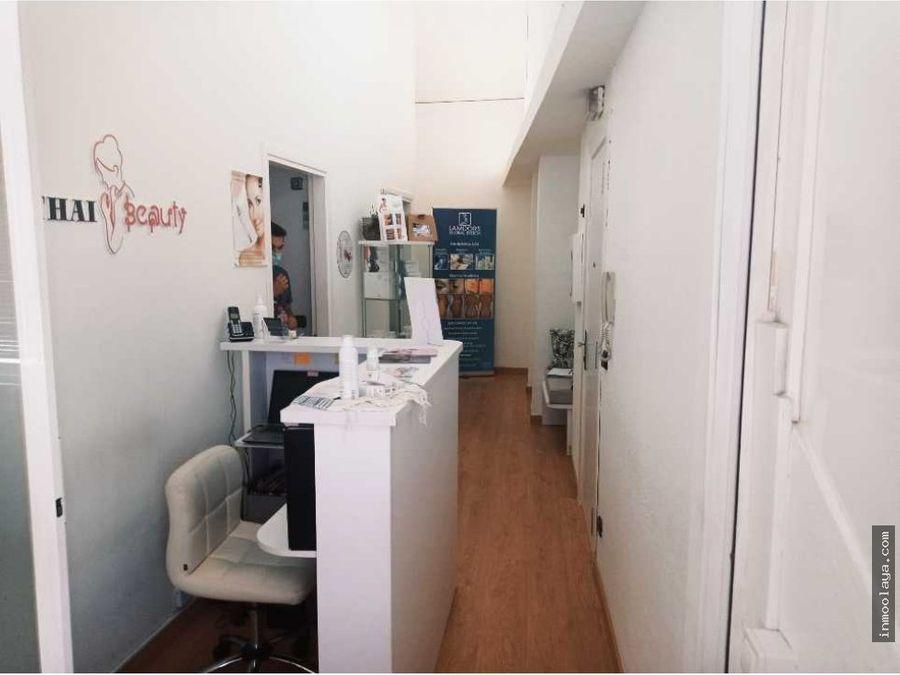 traspaso de centro de estetica y peluqueria en centro de sabadell