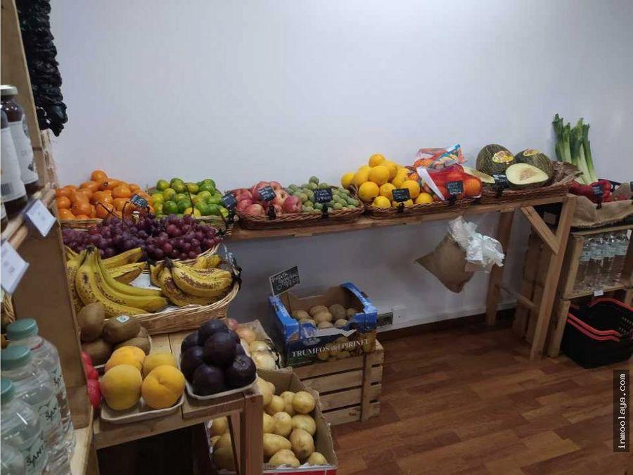 traspaso de fruteria y venta a granel en gracia