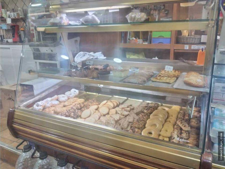 traspaso de panaderia con salida de humos en sants