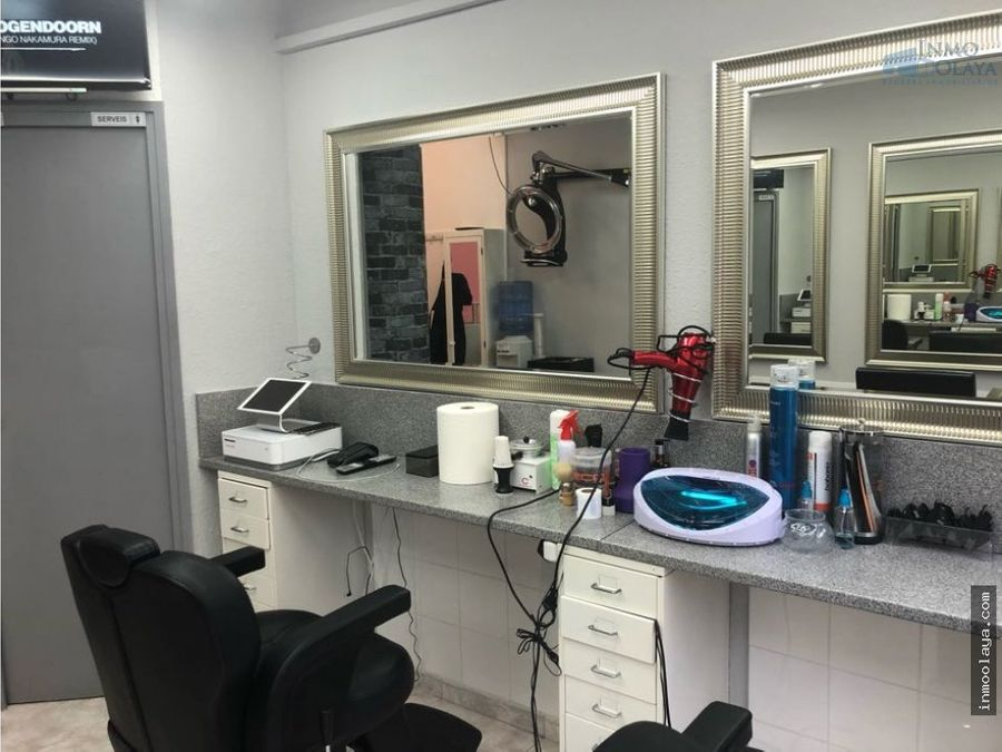 traspaso peluqueria en sant antoni