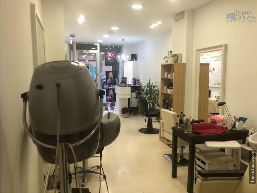 traspaso peluqueria sala estetica sagrada familia