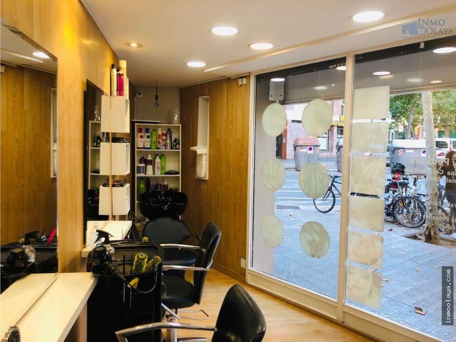traspaso de peluqueria y sala de estetica en camp de larpa