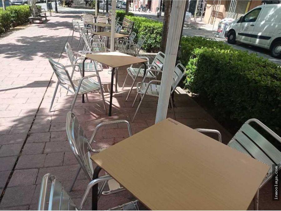 traspaso de restaurante c3 con terraza en barbera del valles