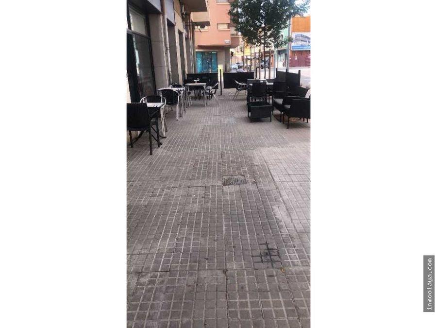 traspaso de restaurante con terraza en granollers