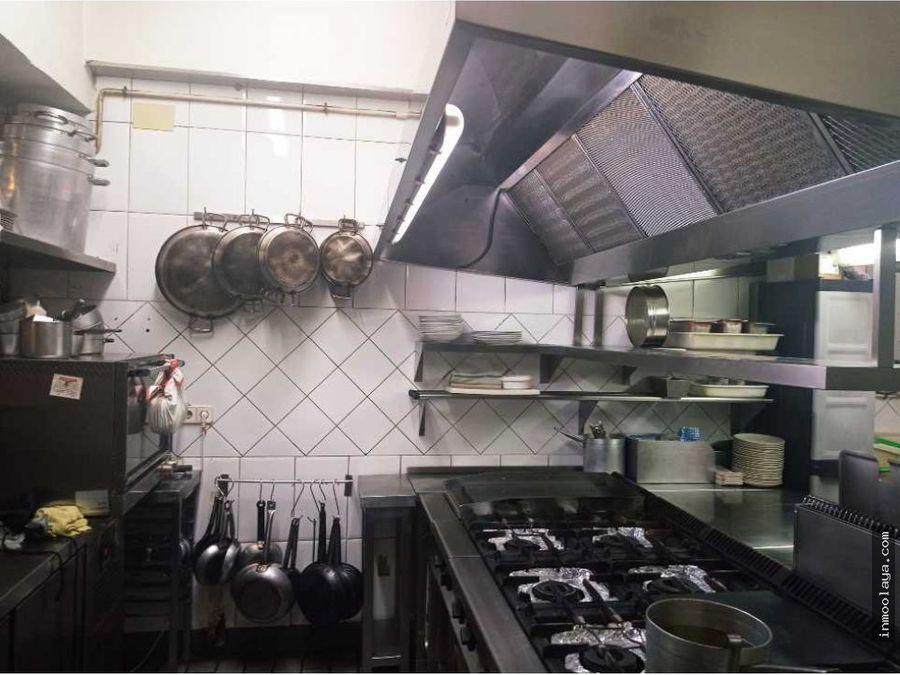 traspaso de restaurante en centro de mollet
