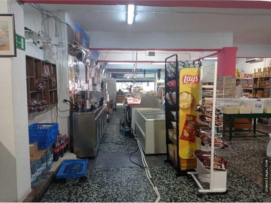 traspaso de supermercado en via principal de sabadell