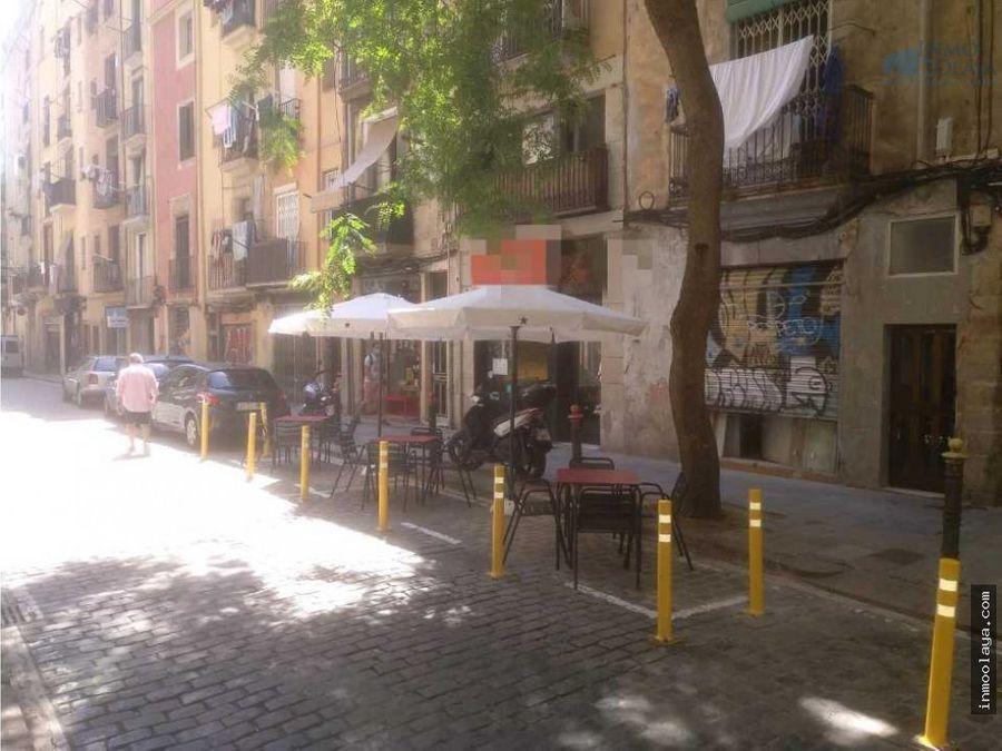 traspaso hamburgueseria c3 con terraza en ciutat vella