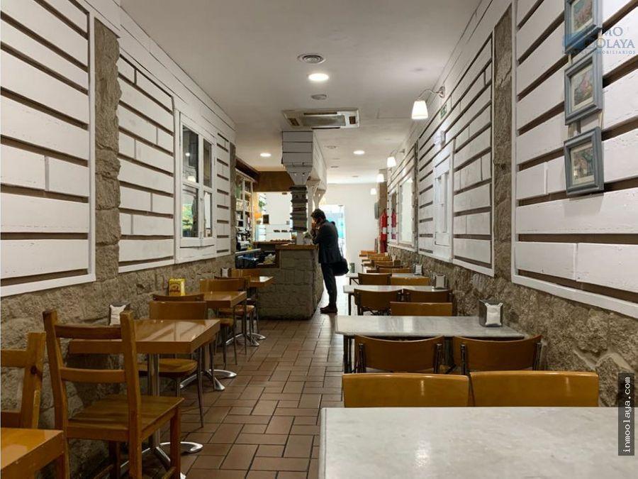 traspaso cafeteria c2 en sant gervasi gracia