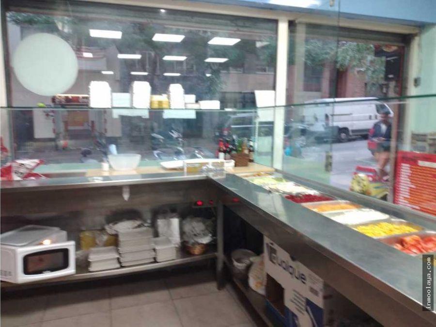 traspaso kebab c3 con terraza en baix guinardo