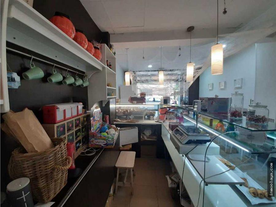 traspaso panaderia cafeteria con obrador en lhospitalet de llobregat