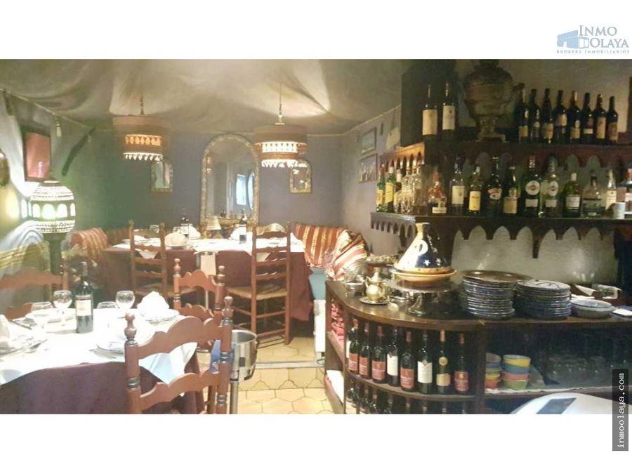 traspaso restaurante c3 mixto y terraza en sarria