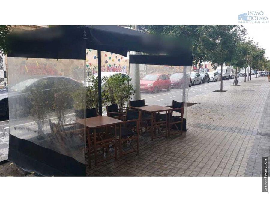 traspaso restaurante pizzeria c3 con terraza ensanche izq