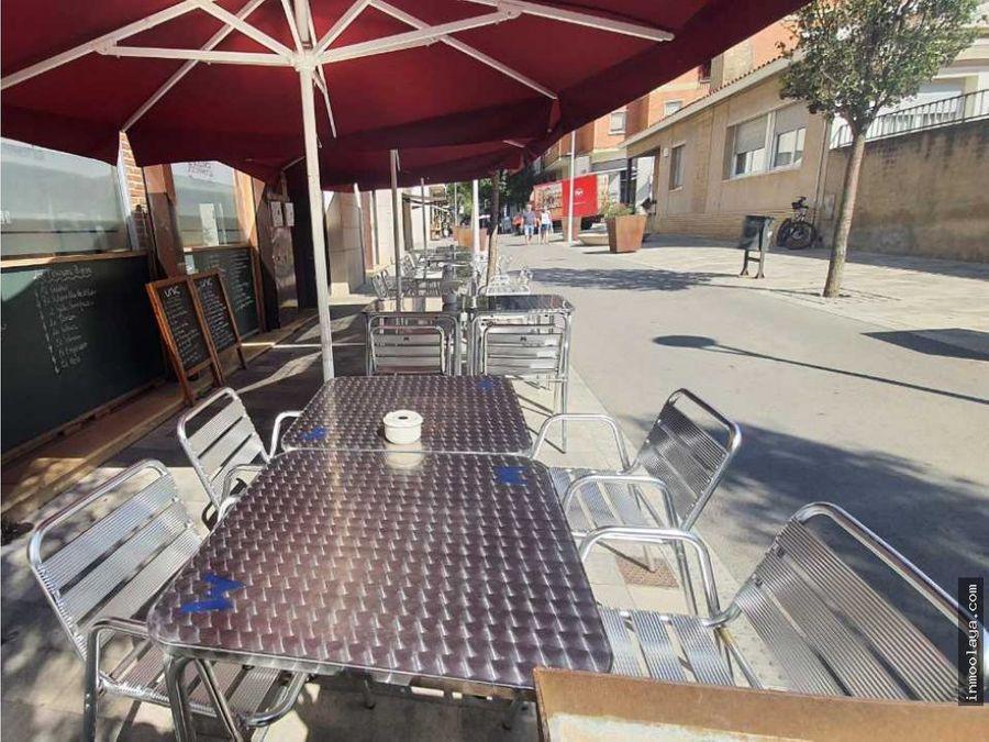 traspaso restaurante braseria c3 con terraza en castellar del valles