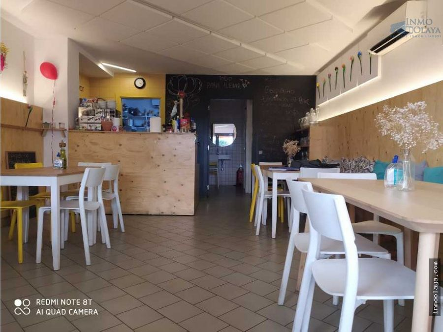 traspaso restaurante en sant gervasi