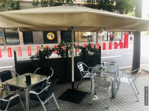 traspaso bar cafeteria cerca avda madrid con terraza