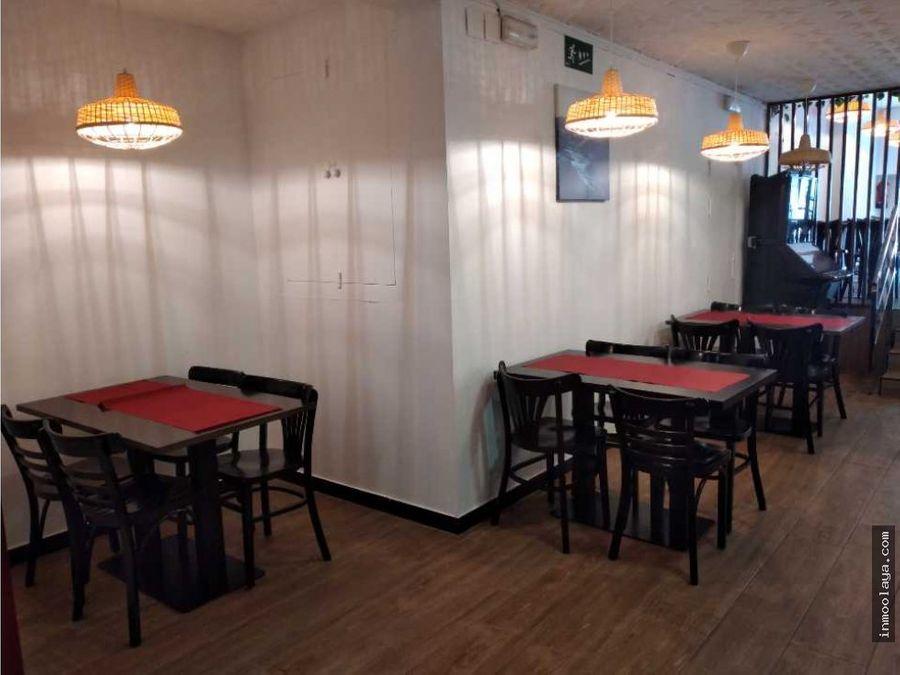 traspaso restaurante c3 con terraza en plaza de espana