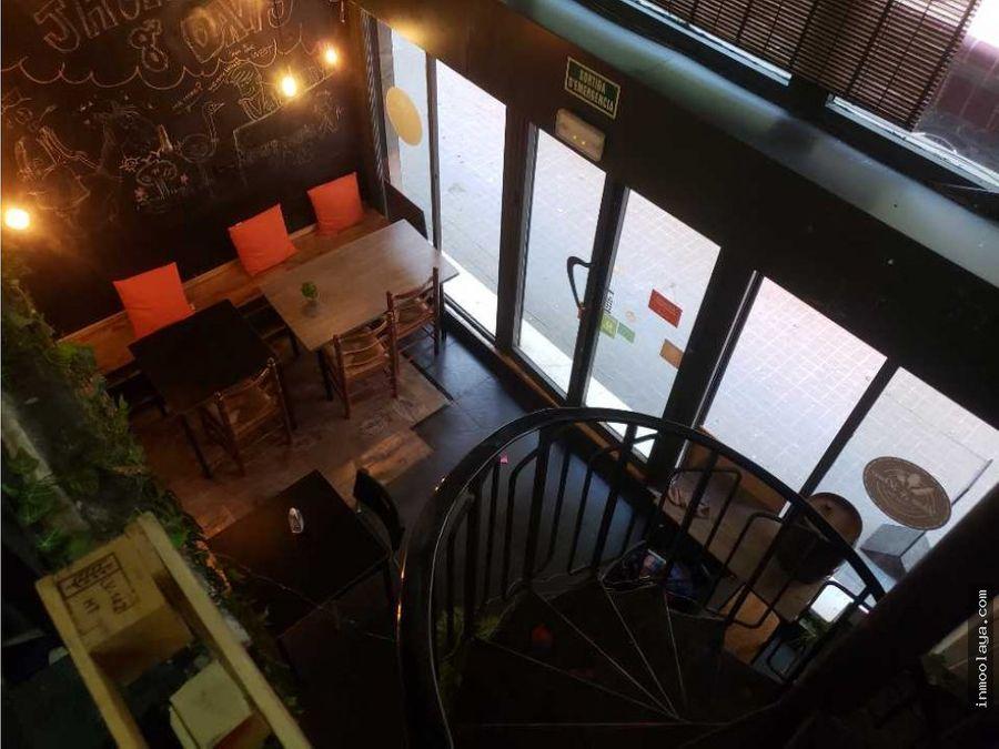 traspaso bar con terraza en arco del triunfo