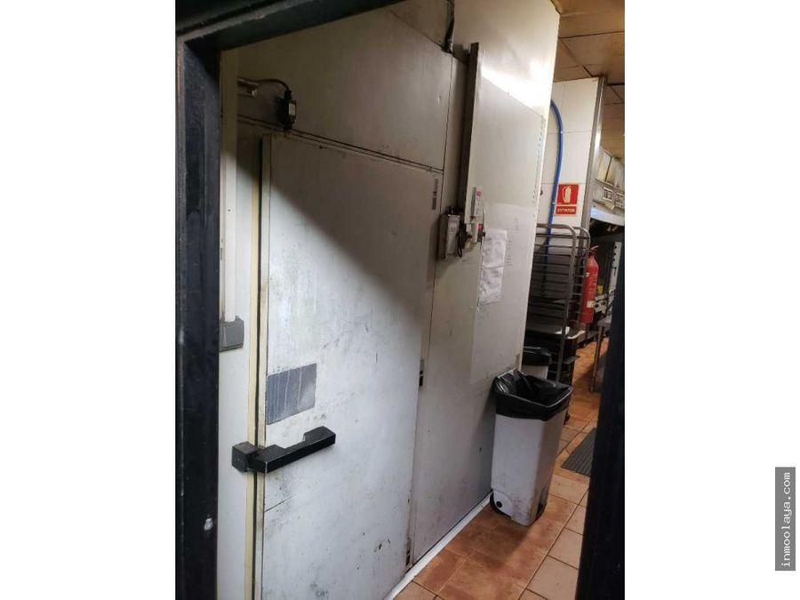 traspaso de restaurante c3 en poligono industrial