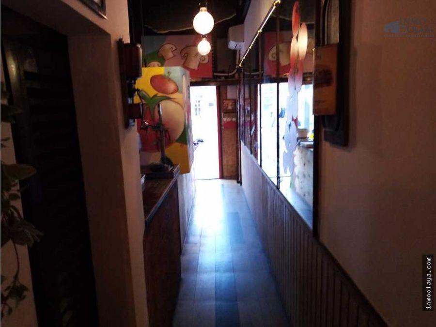 traspaso restaurante c3 en avenida paralelo
