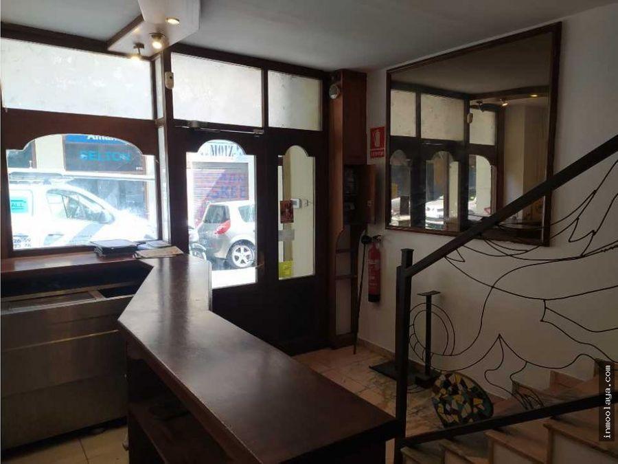 traspaso restaurante c3 en el poblesec