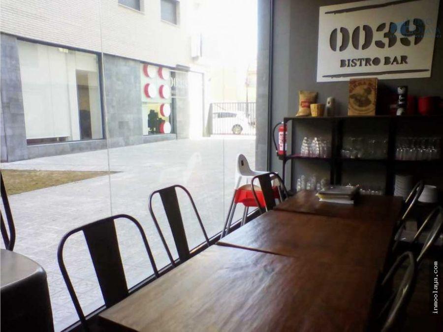 traspaso restaurante c3 en sabadell centro