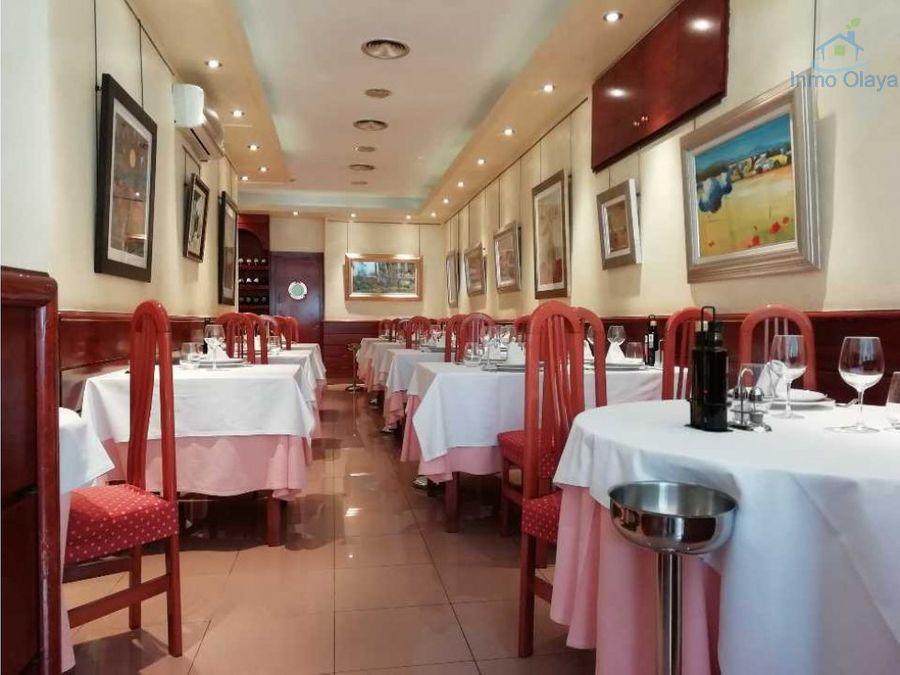 traspaso restaurante c3 terraza eixample