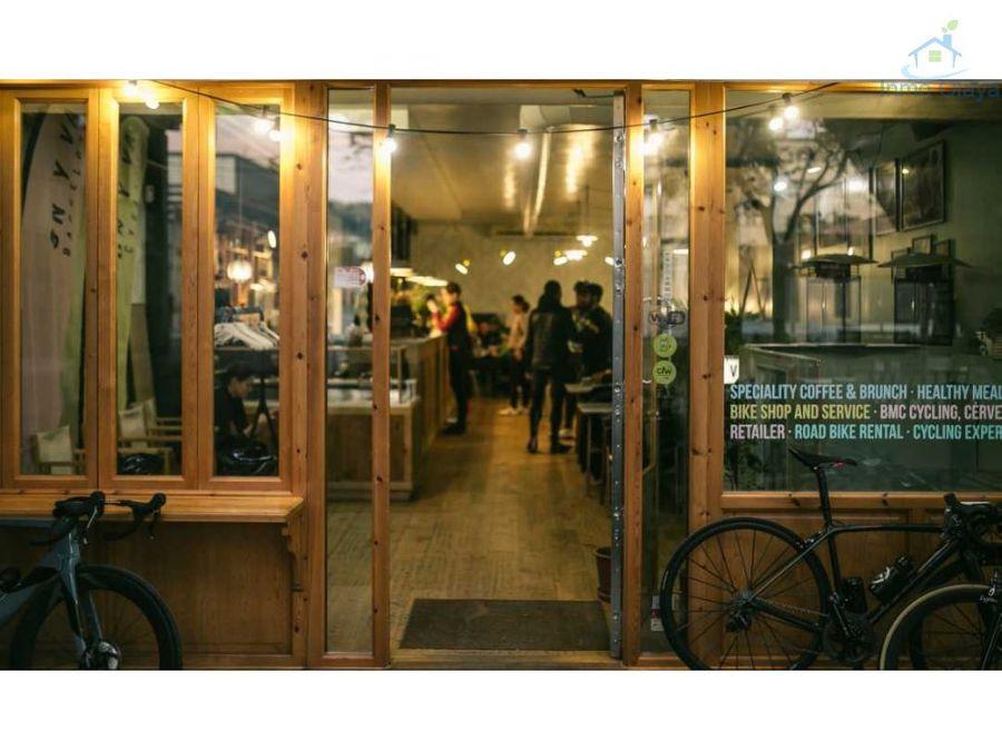 traspaso restaurante coffe shop en sarria