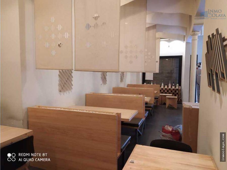traspaso restaurante japones en gracia