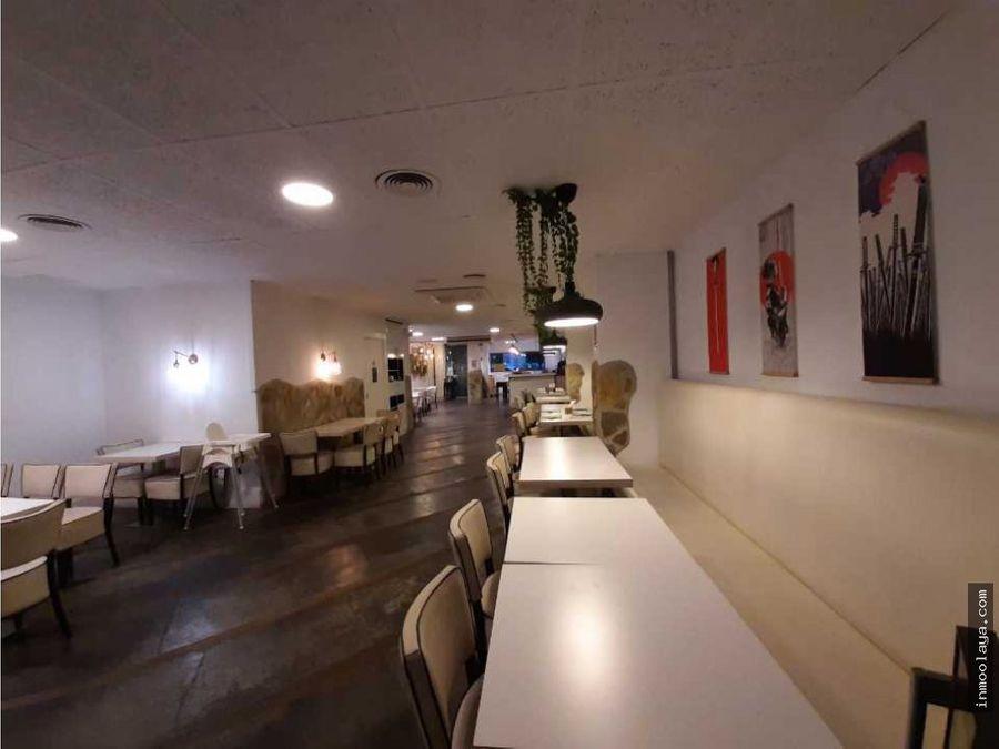 traspaso restaurante pizzeria c3 en castelldefels