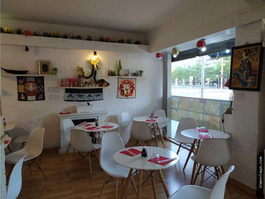 traspaso restaurante take away en plaza espana