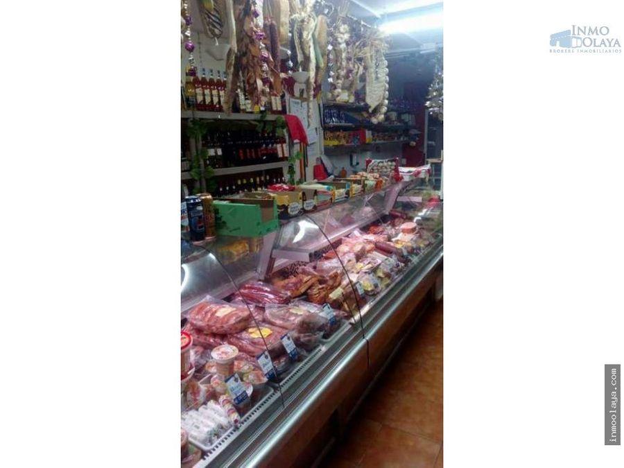 traspaso tienda de alimentacion en castelldefels
