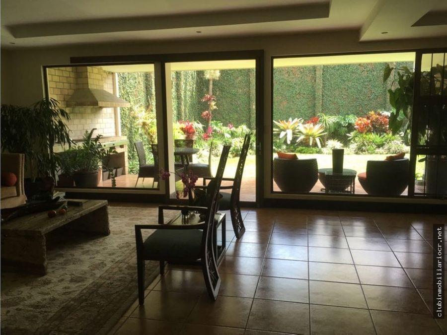 trejos montealegre casa contemporanea moderna y en buen precio