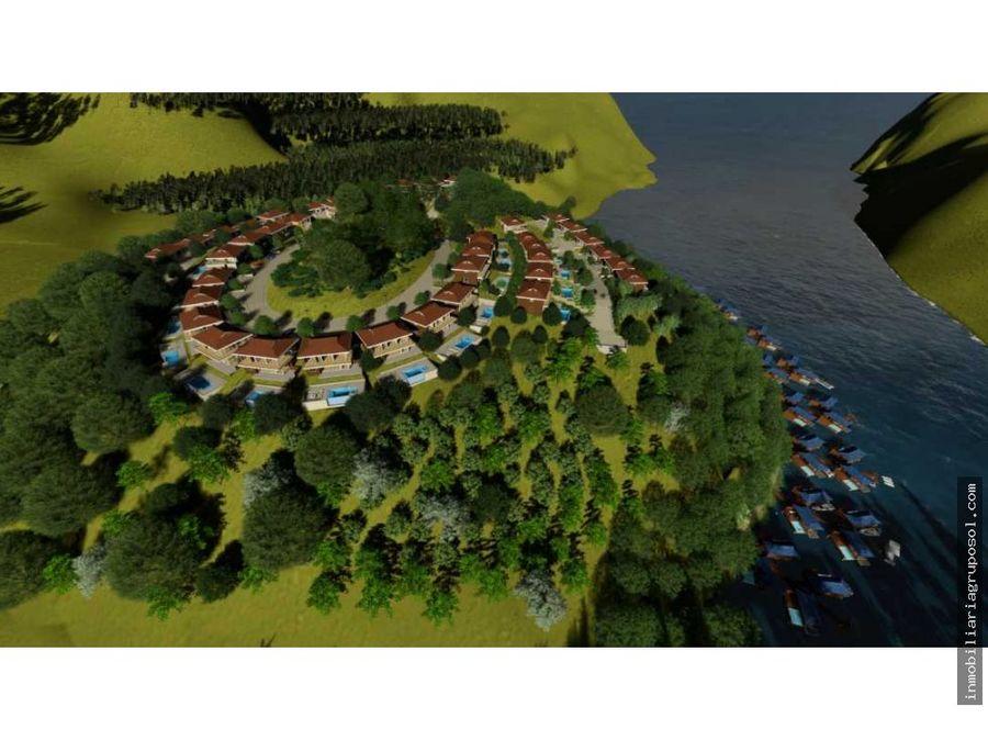 venta de casa de lago