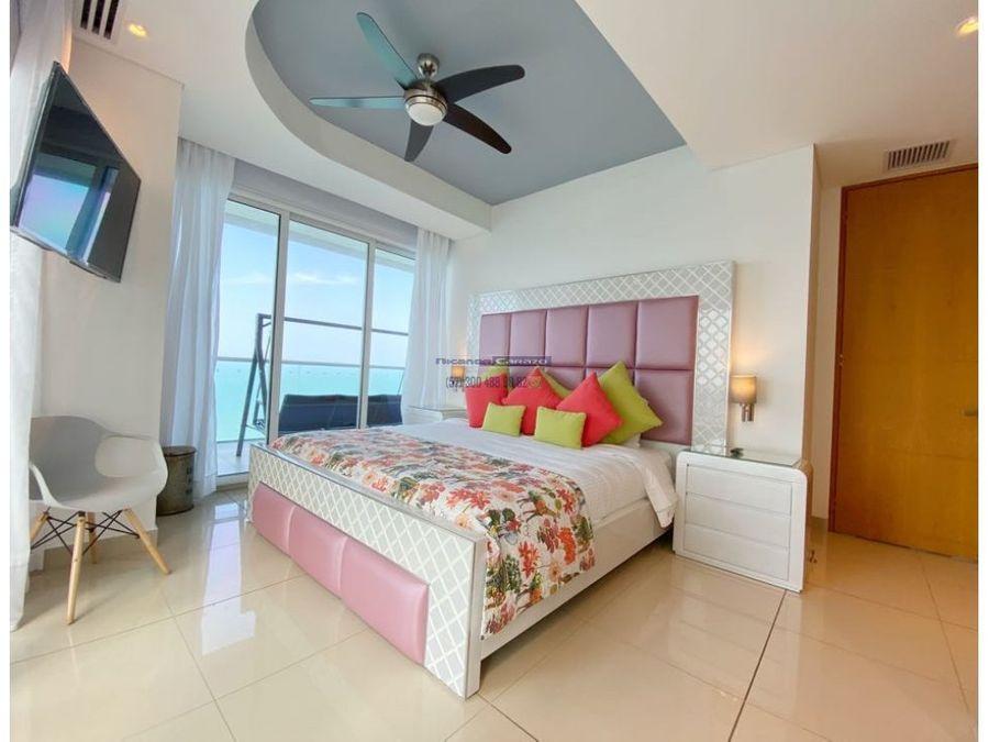 vendemos apartamento 3 habitaciones vista al mar en h2 condominio