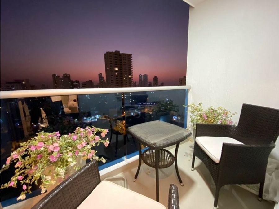 vendemos apartamento 2 alcobas en manga cartagena de indias