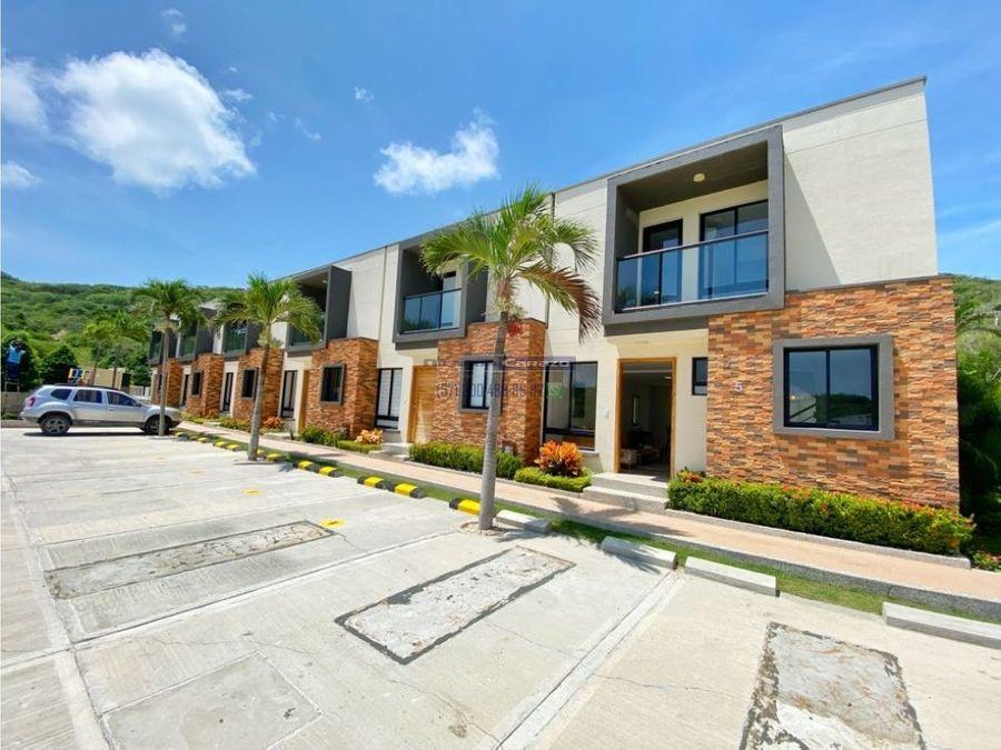 vendemos casa 2 niveles de 3 habitaciones en puerto colombia altavista