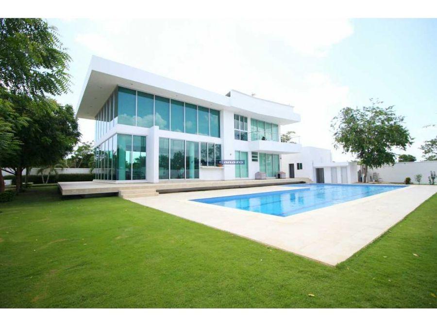 vendemos casa de lujo manzanillo del mar cartagena
