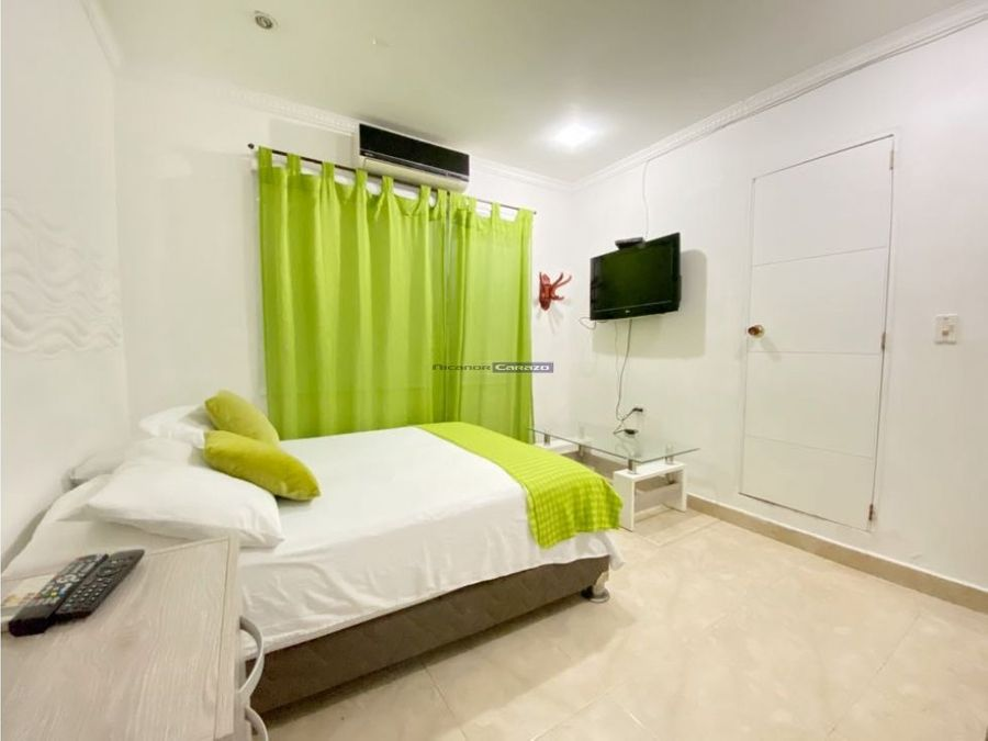 vendemos casa hotel rentable el bosque cartagena