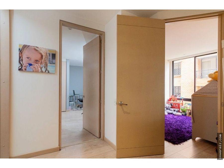 vendo moderno apartamento en santa barbara 82 metros balcon ar
