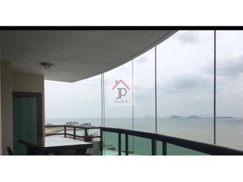 vendo o alquilo 2500 apartamento amoblado frente al mar