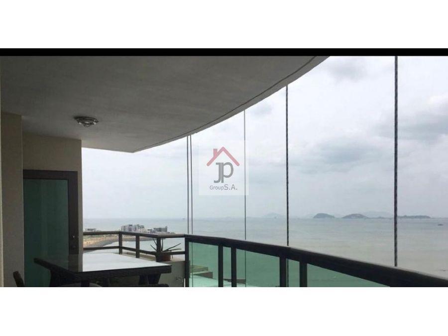 vendo apartamento amoblado frente al mar