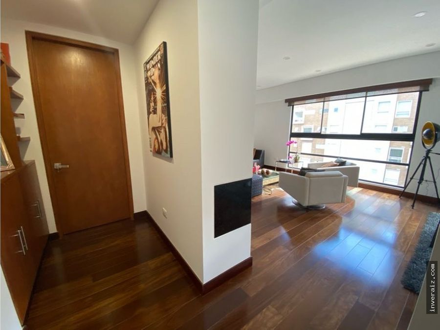 vendo apartamento moderno en el virrey de 100 metros ar
