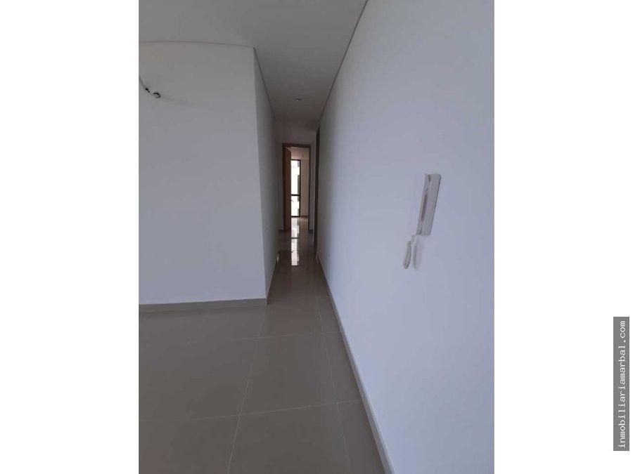 vendo apartamento nuevo en balcones de garupal