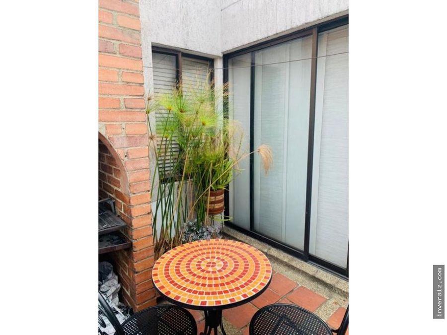 vendo apartamento con terraza en cedritos ar