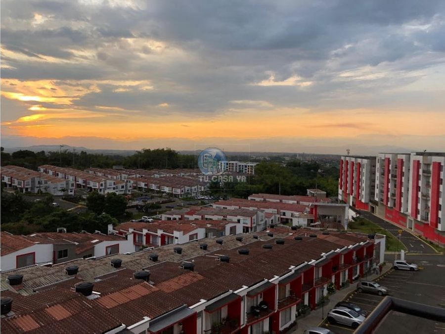 vendo apartamento con hermosa vista