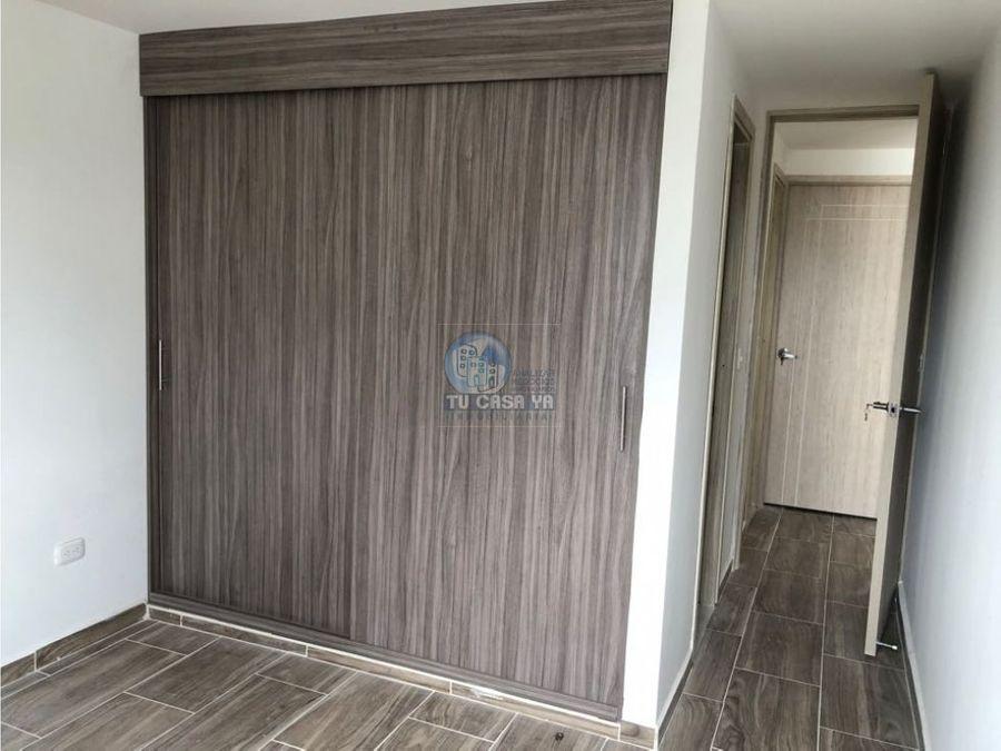 vendo apartamento con hermosa vista y parqueadero en sotano