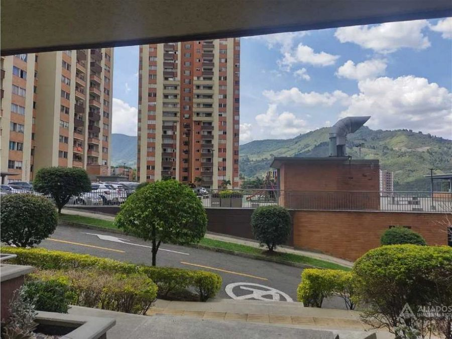 vendo apartamento en itagui con hermosa vista