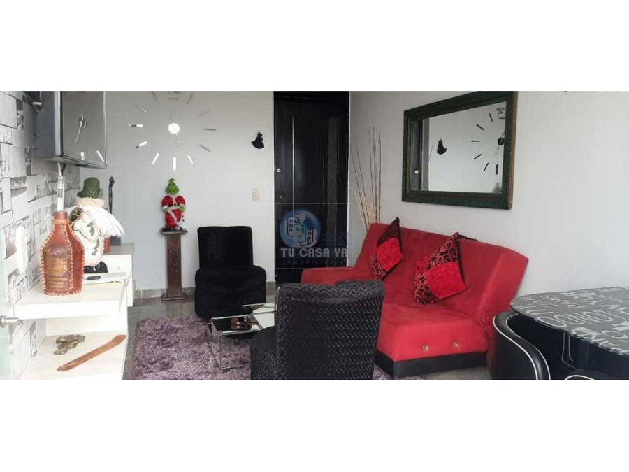vendo apartamento con hermosos acabados conjunto cerrado