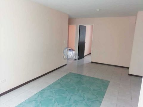 vendo apartamento con parqueadero cubierto